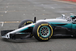 Передня частина Mercedes AMG F1 W08 Hybrid