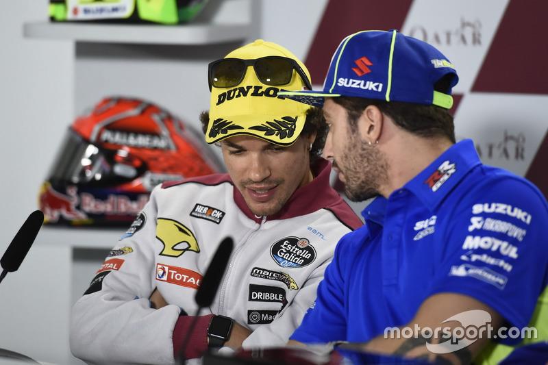 Franco Morbidelli, Marc VDS; Andrea Iannone, Team Suzuki MotoGP