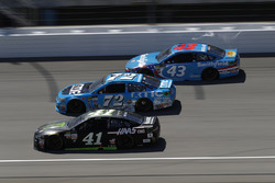 Kurt Busch, Stewart-Haas Racing Ford Cole Whitt, TriStar Motorsports Chevrolet Darrell Wallace Jr., Richard Petty Motorsports Ford