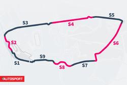 Le Mans Slow zones