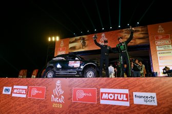 Podium: X-Raid Team Mini: Nani Roma, Alex Haro