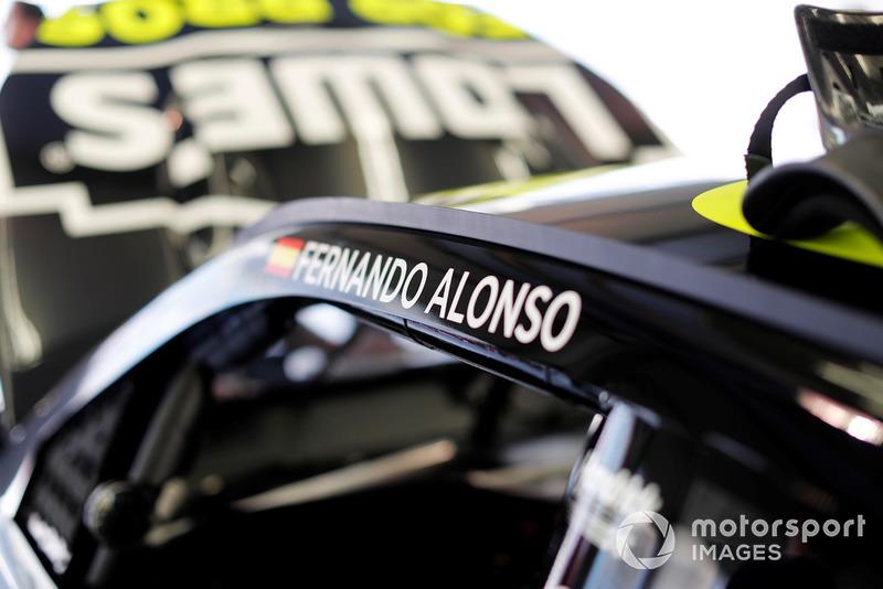Fernando Alonso en el NASCAR