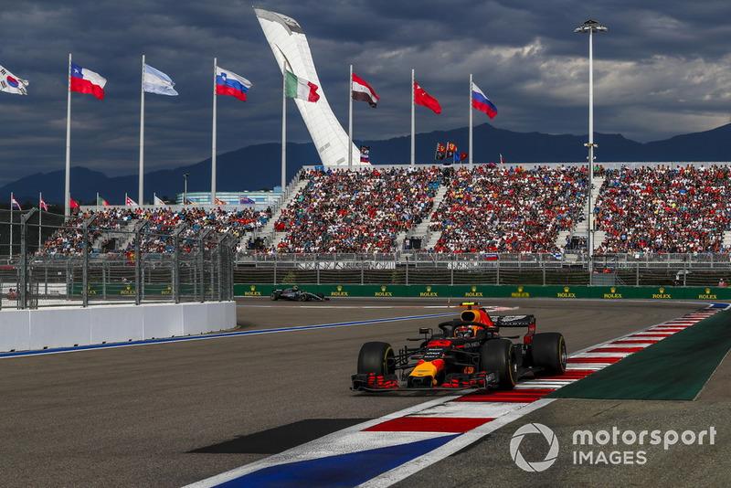 GP de Rusia: Max Verstappen (5º en carrera)