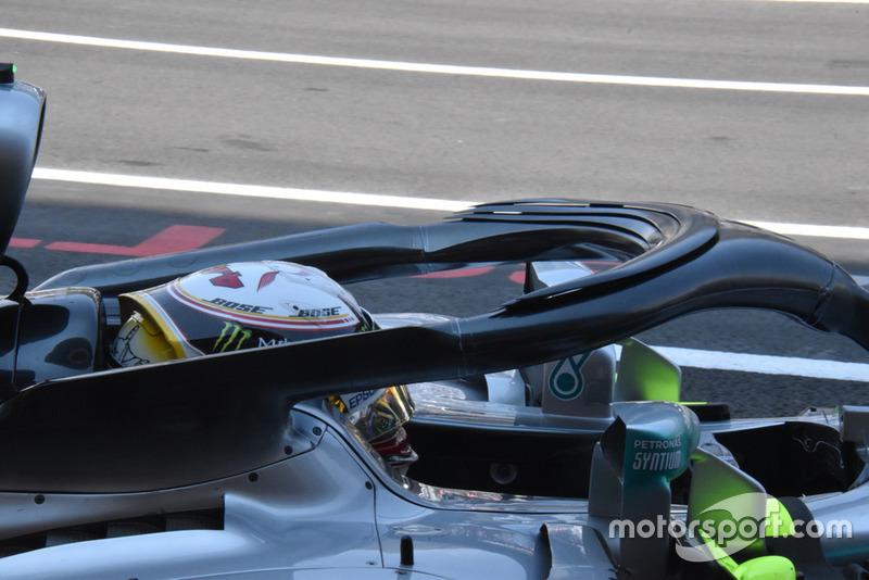 Mercedes-AMG F1 W09 Halo Detail