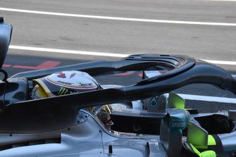 Halo Mercedes-AMG F1 W09