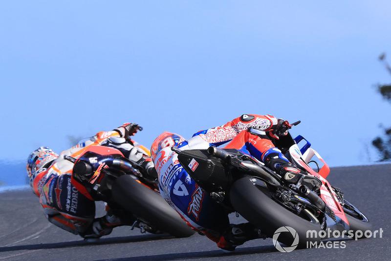 Dani Pedrosa, Repsol Honda Team, Danilo Petrucci, Pramac Racing