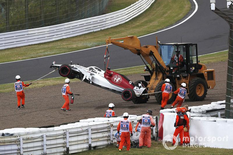 13 місце — Маркус Ерікссон, Sauber. Умовний бал — 7,70