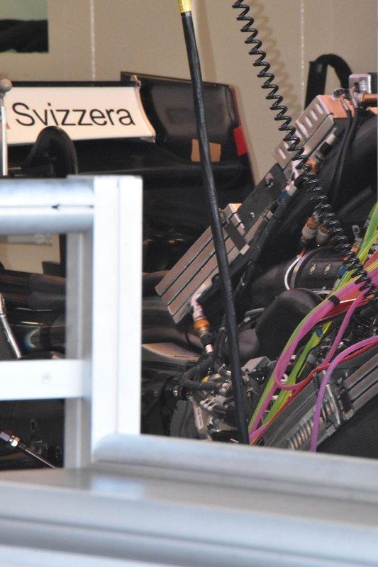 Detalle trasero Sauber C38