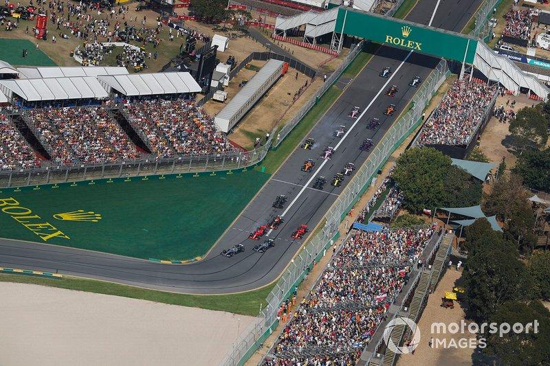 Valtteri Bottas, Mercedes AMG W10, Lewis Hamilton, Mercedes AMG F1 W10, Sebastian Vettel, Ferrari SF90, Max Verstappen, Red Bull Racing RB15, Charles Leclerc, Ferrari SF90
