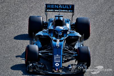 Alonso Renault Bahreyn testi
