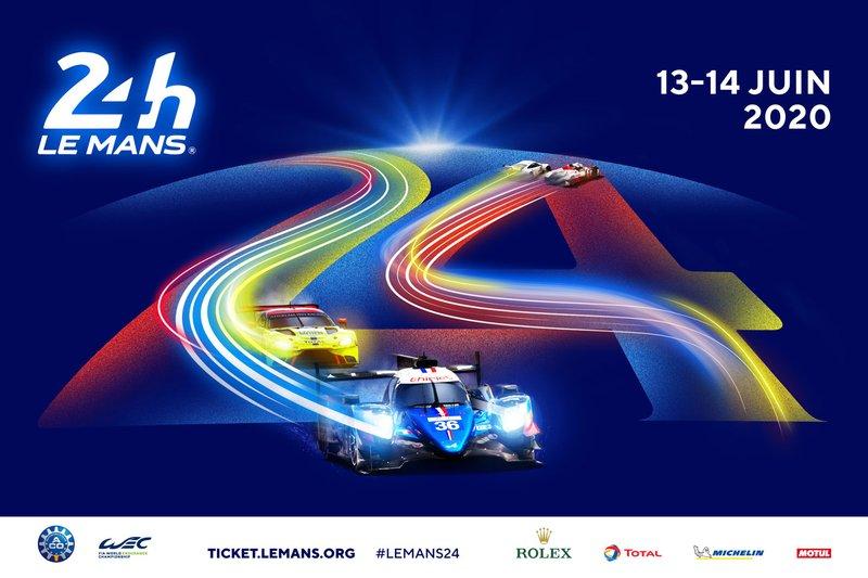 Cartel 24 horas de Le Mans