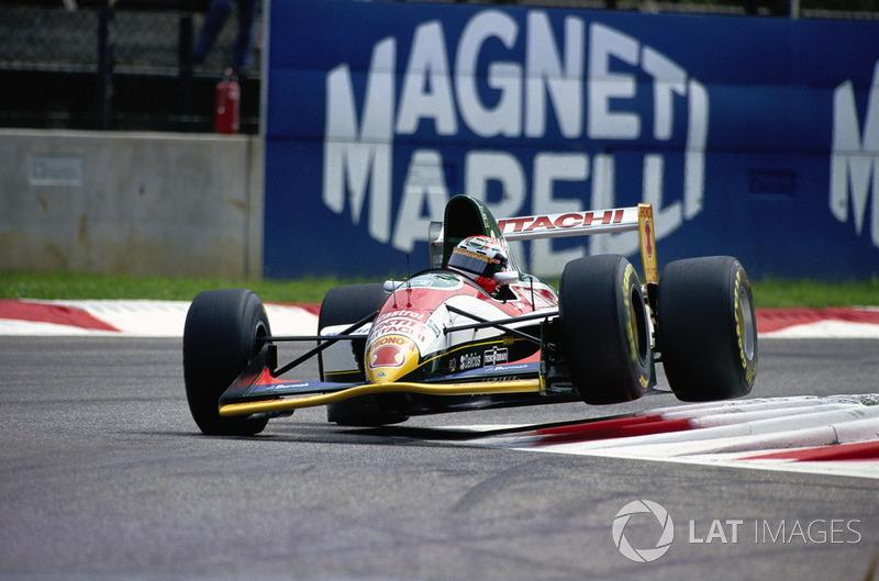 Johnny Herbert, Lotus 107B