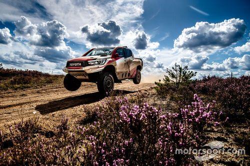 Alonso et Toyota en essais en Pologne