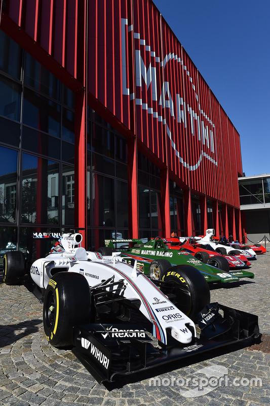 Williams FW38 en Martini retrocollectie