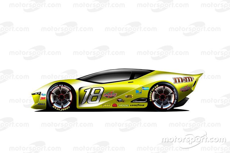 Fantasy NASCAR design of the future