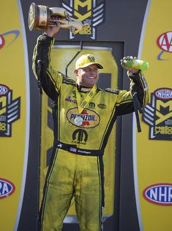 Funny Car winner Matt Hagan