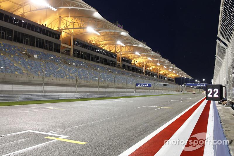 Стартова решітка Бахрейну
