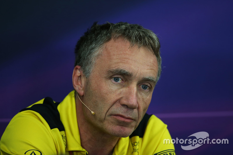 Bob Bell, Renault Sport F1 Team Chief Technical Officer in the FIA Press Conference