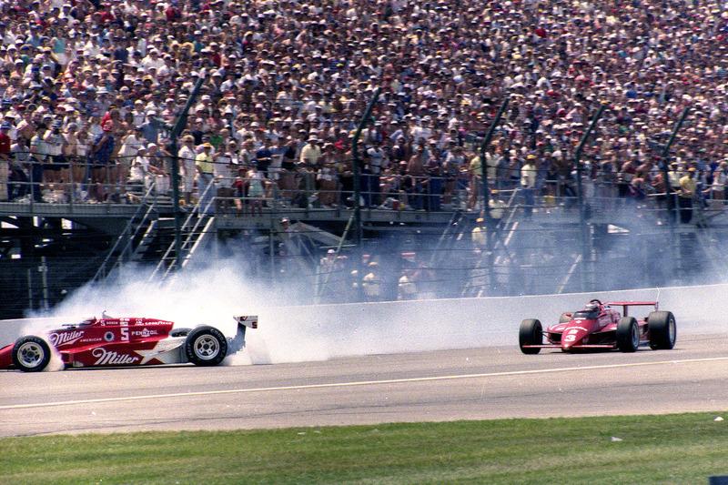 Danny Sullivan et Mario Andretti