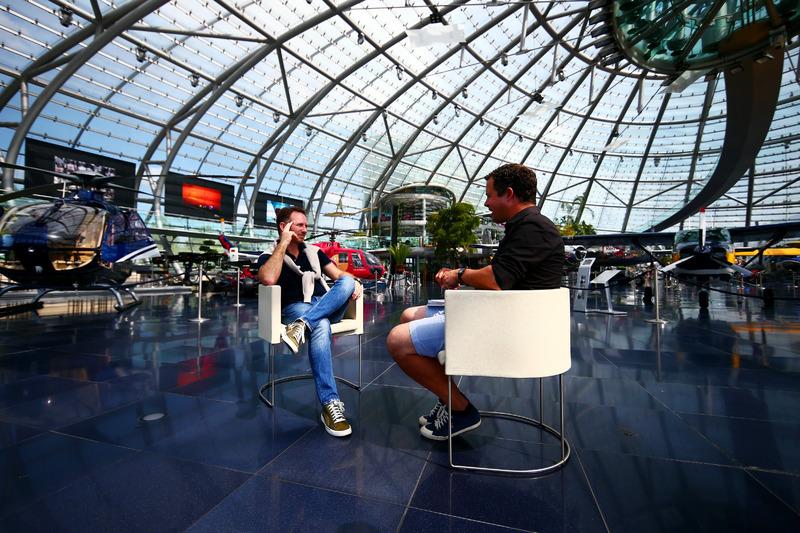 Red Bull Racing Takım Patronu ve Sky Sports'dan Ted Kravitz