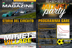 Mitjet, programma gare di Monza