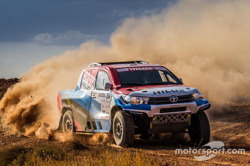 #204 Toyota: Nani Roma, Alex Haro