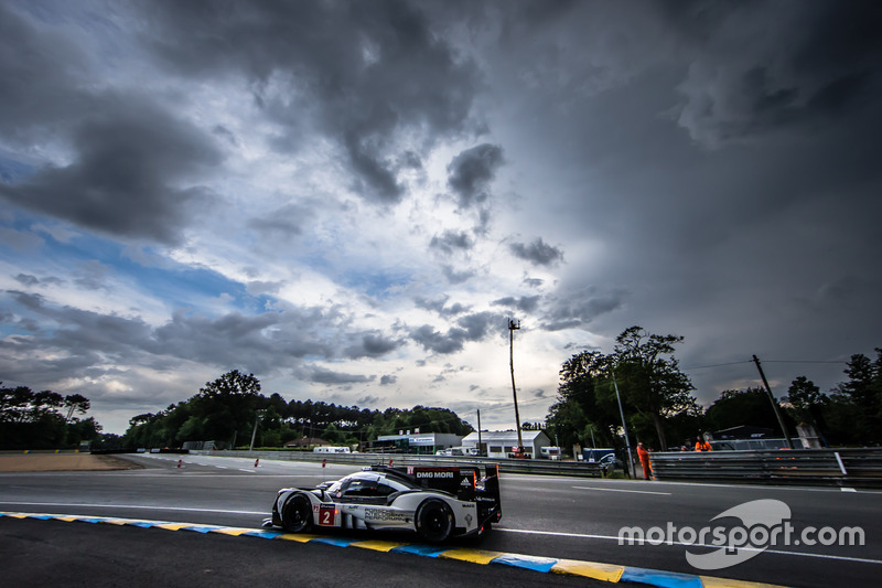 Es klart auf in Le Mans