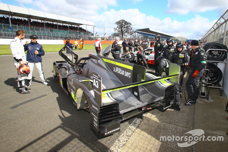 #4 ByKolles Racing CLM P1/01: Simon Trummer, James Rossiter, Oliver Webb