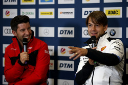 Press Conference, Mike Rockenfeller, Audi Sport Team Phoenix, Augusto Farfus, BMW Team RMG