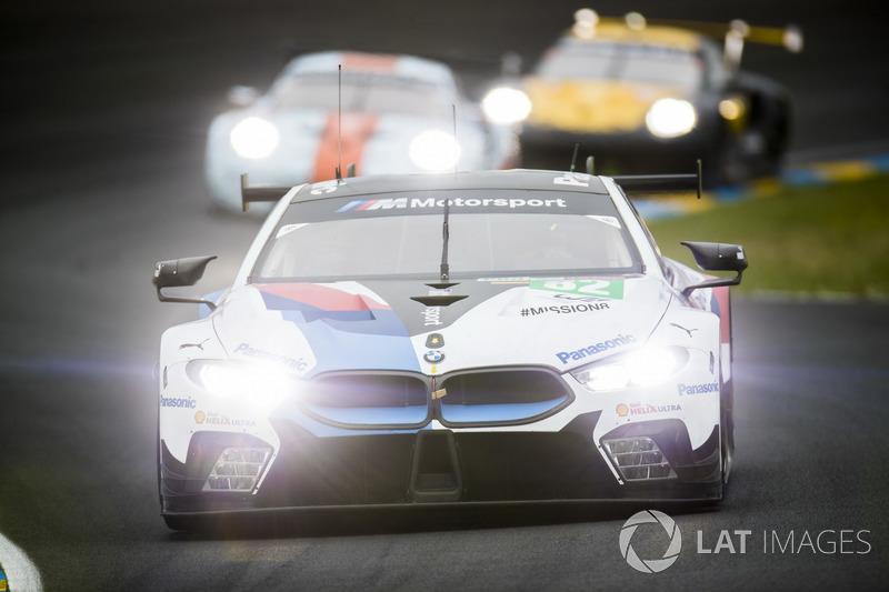 42: #82 BMW Team MTEK BMW M8 GTE: Antonio Felix da Costa, Alexander Sims, Augusto Farfus, 3'50.579