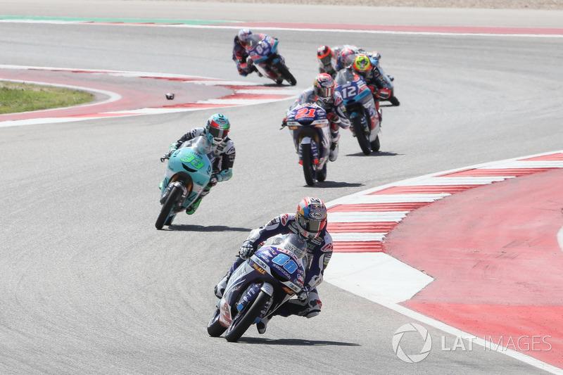 Jorge Martin, Del Conca Gresini Racing Moto3, Enea Bastianini, Leopard Racing, Fabio Di Giannantonio, Del Conca Gresini Racing Moto3