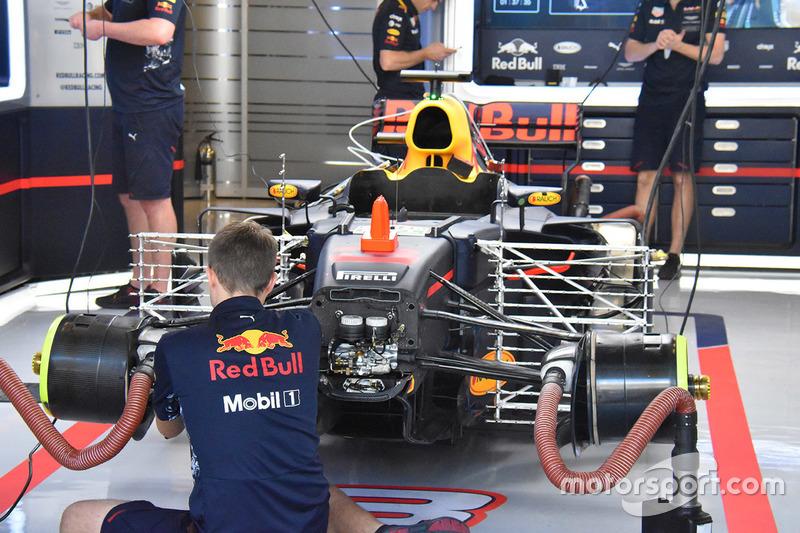 Red Bull RB13: Sensoren und Messgeräte