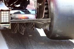 Le diffuseur de la Ferrari SF71H