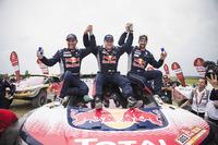 Stéphane Peterhansel, Carlos Sainz, Cyril Despres, Peugeot Sport