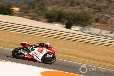 Moto2-Test in Valencia