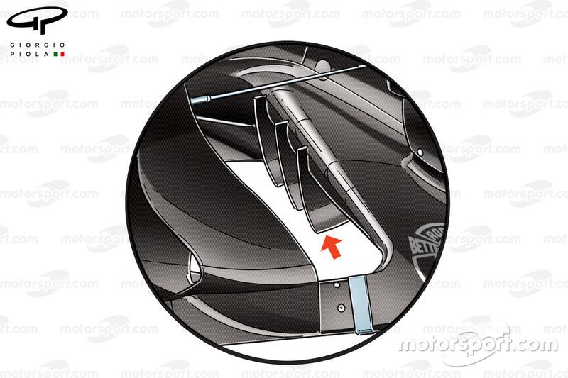"""تفاصيل الألواح الجانبيّة لسيارة فورس إنديا """"في.جاي.ام10"""" في جائزة المكسيك الكبرى 2017"""
