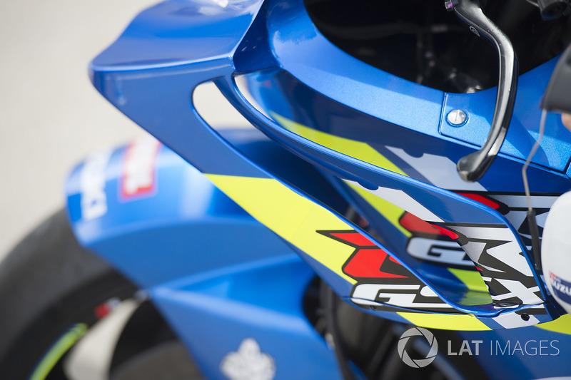 Team Suzuki MotoGP, dettaglio delle alette