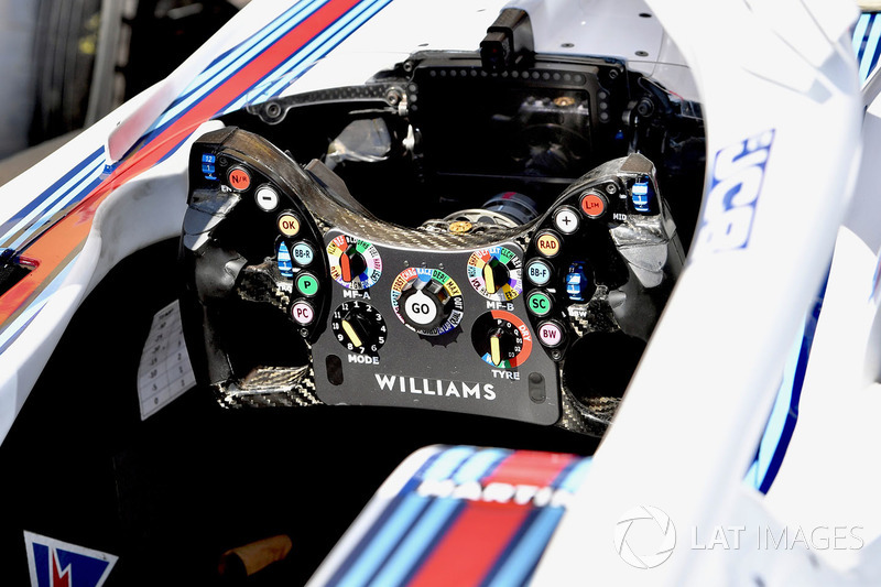 Руль Williams FW41