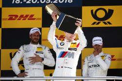 Podio: il secondo classificato Marco Wittmann, BMW Team RMG