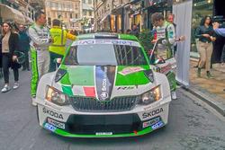 Umberto Scandola, Guido D'Amore, Skoda Fabia R5, Daytona Race