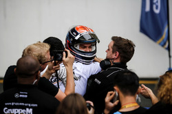 Yarış galibi Edoardo Mortara, Mercedes-AMG Team Driving Academy, Mercedes - AMG GT3