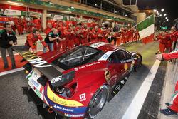 LMGTE Pro eerste plaats #71 AF Corse Ferrari 488 GTE: Davide Rigon, Sam Bird