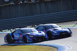 #100 RAYBRIG NSX-GTと#12 カルソニック IMPUL GT-R