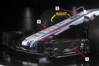 Williams FW41 detail