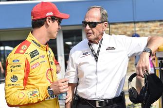 Walt Czarnecki Team Penske and Joey Logano, Team Penske, Ford Fusion Shell Pennzoil