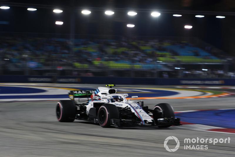 Формула 1, XV этап, Гран При Сингапура