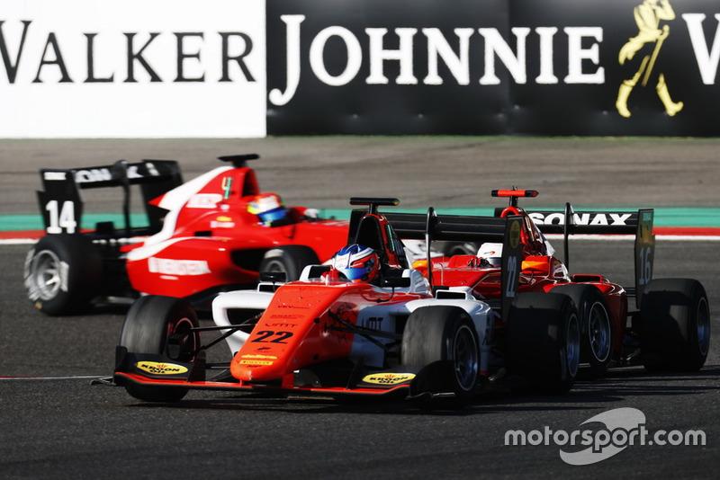 Richard Verschoor a marqué des points dès son premier meeting en GP3