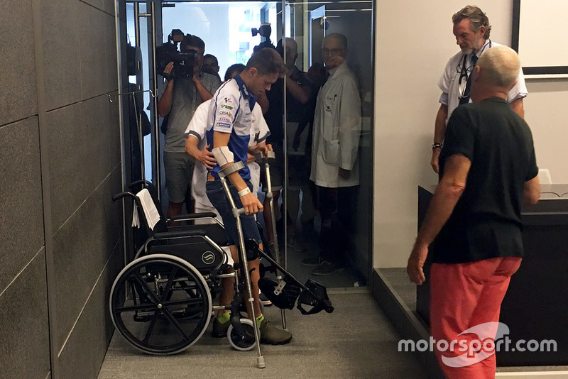 Tito Rabat, Avintia Racing en el hospital