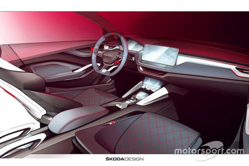 Інтер'єр Skoda Vision RS