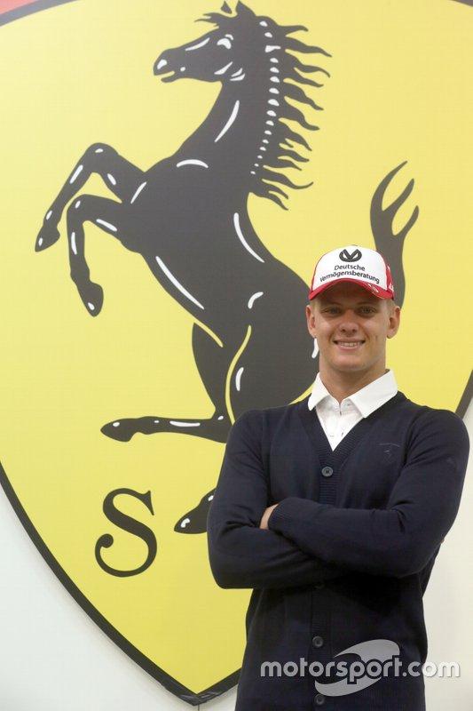 Mick Schumacher, Academia de pilotos de Ferrari
